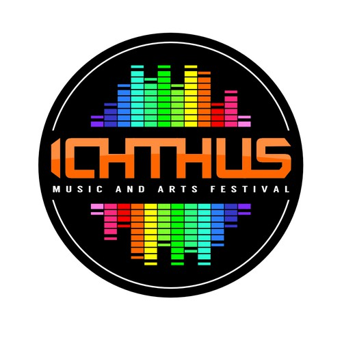Winning logo design for Ichthus Music and Arts Festival