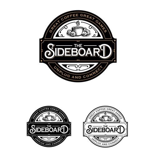 THE SIDEBOARD LOGO DESIGN
