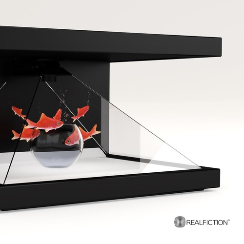 Realfiction holographic display