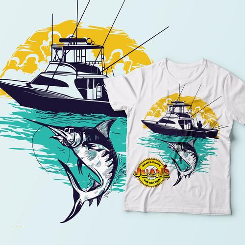 Juan's boating summer and fishing Tshirt
