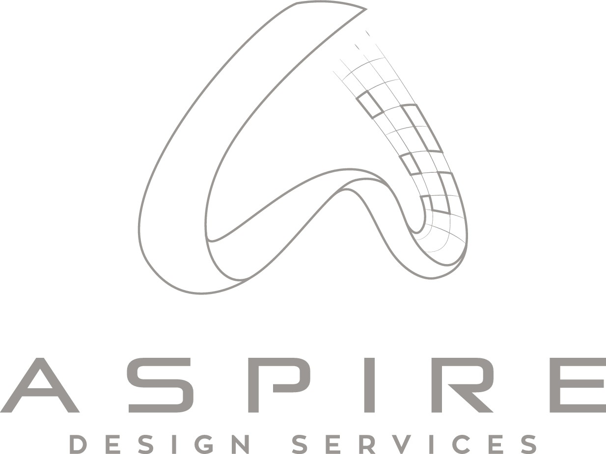 """Create an """"Aspire""""ing image for 3D printing/modeling business."""
