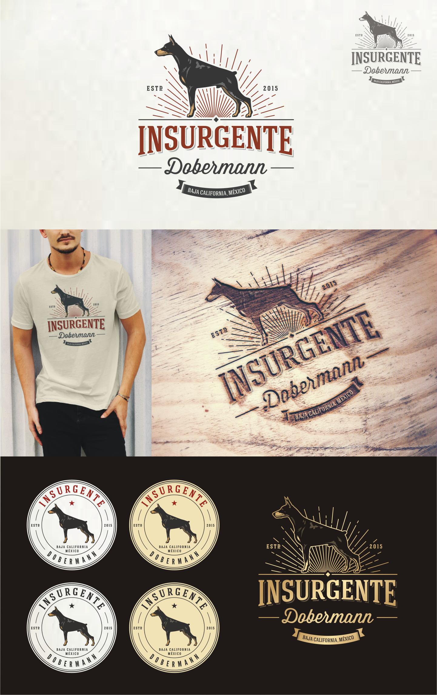Create a creative and impactful logo design for a Dobermann Breeder
