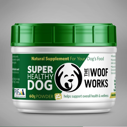 Natural supplement for your dog