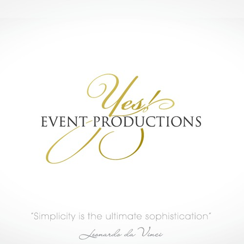 Need professional, stylish... chic, elegant logo for YES! Event Productions