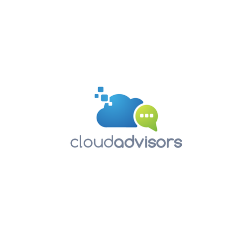 cloudadvisors logo design