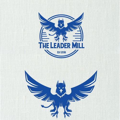POWEFUL BOLD LOGO FOR LEADER MILL