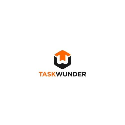 Simple logo for Task Wunder