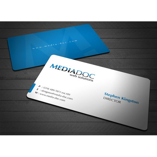 MediaDoc Business Card