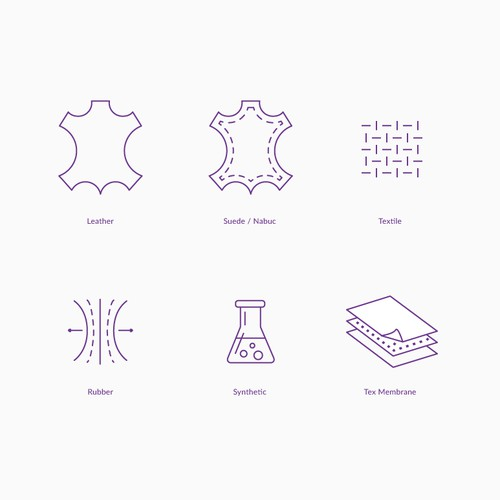 Fabric icons