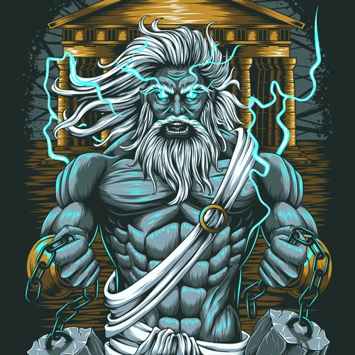 Gods t-shirt design