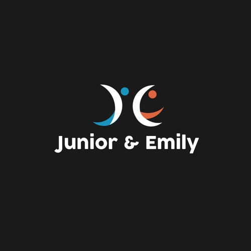 Junior & Emily moving logo