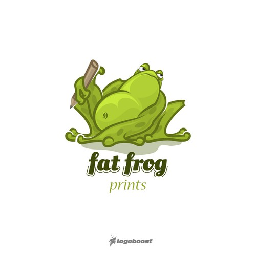 fat frog logo