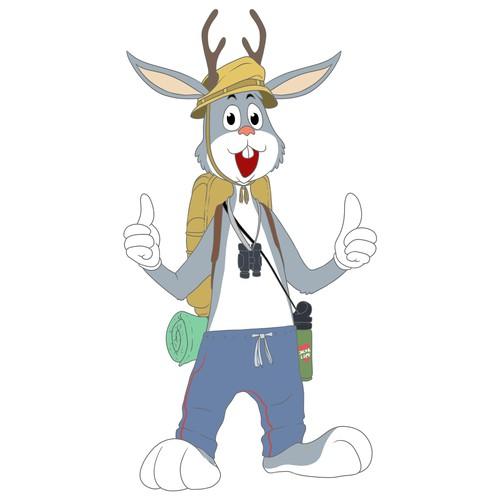 Design a Jackalope Mascot for Douglas, Wyoming
