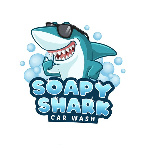 Soapy Shark Car Wash