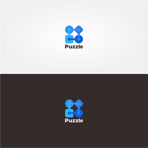 workflows logo concept for Puzzle