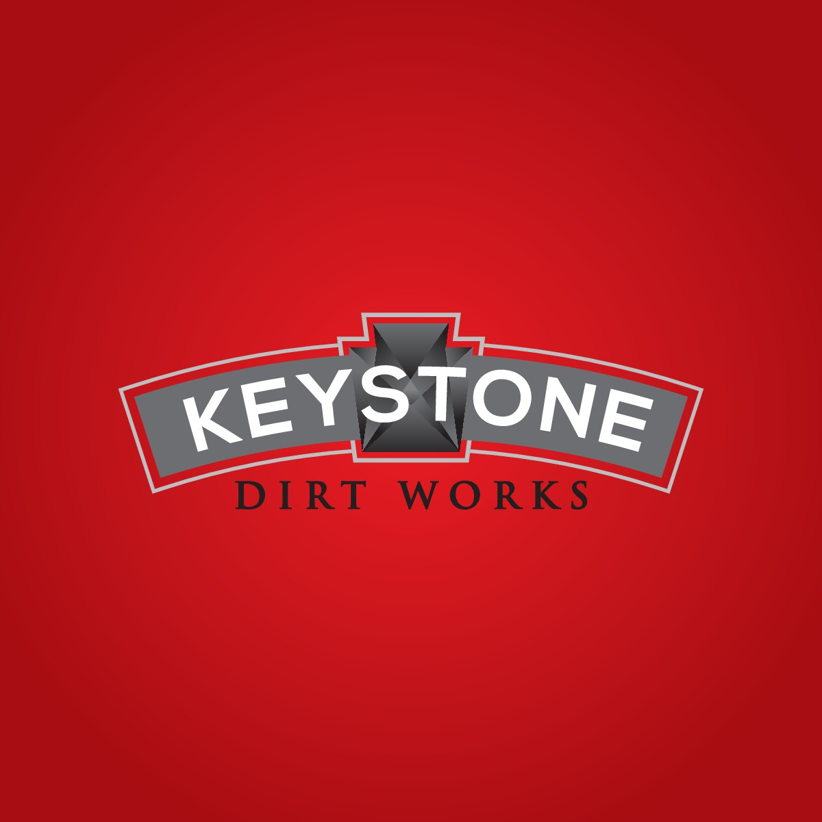Create a simple but effective logo for a upscale excavation contractor