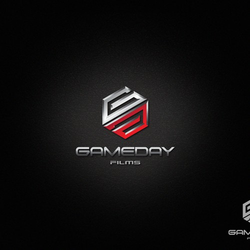 GameDay Films needs strong, masculine, sharp design.
