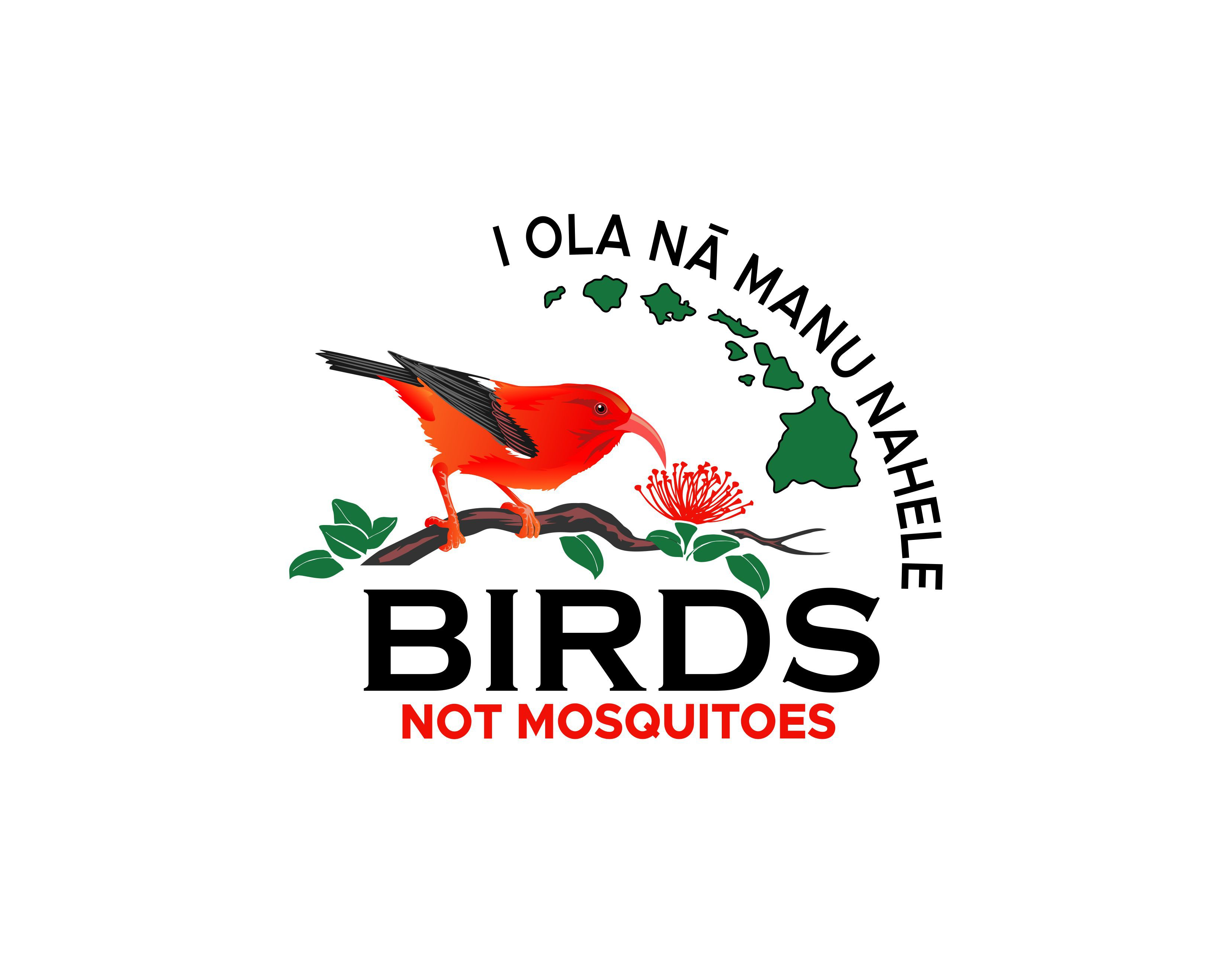 Logo for project to save Hawaiiʻs forest birds from extinction