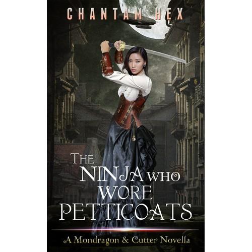 Fantasy Romance Book Cover for Chantam Hex