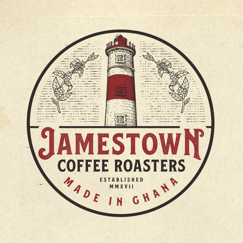 Logo Design for Jamestown Coffee Roasters