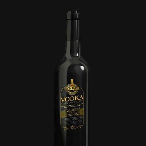 Ridge Runner Distillery needs a Vodka label!