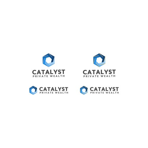 Bold and Creative Logo For Catalyst Private Wealth