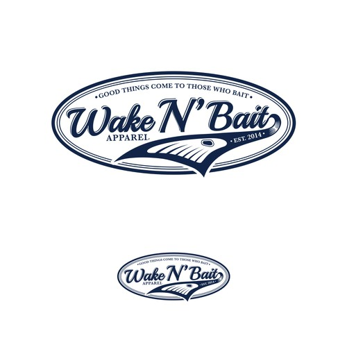Logo Concept for Wake N' Bait