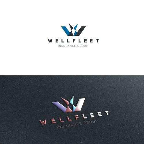 1st design concept for wellfleet insurance group.