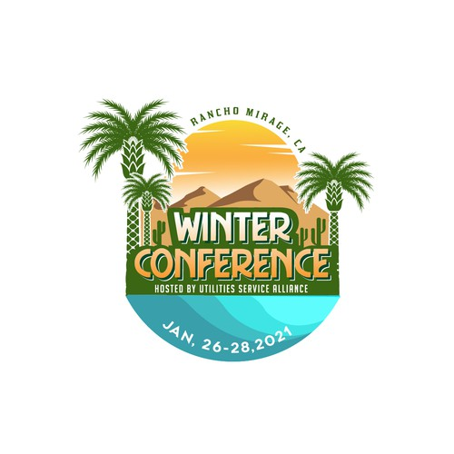 Logo for 2021 Winter Conference will be in Rancho Mirage, CA