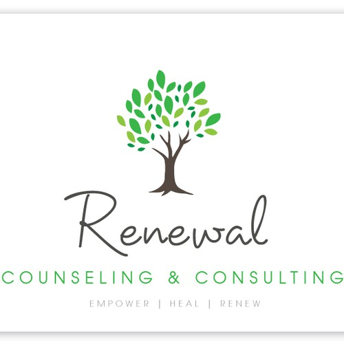 Help Renewal Counseling & Consulting with a new logo
