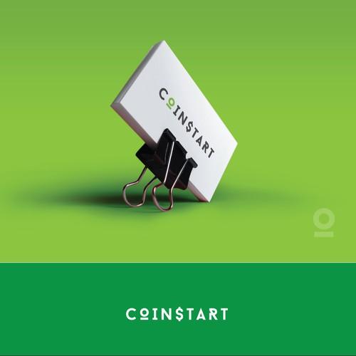 Design a Bitcoin ATM logo for CoinStart!