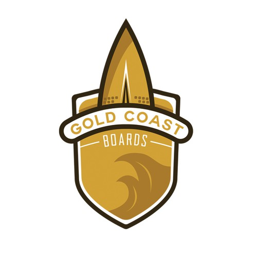 1/2 Logo Concept For Gold Coast Board