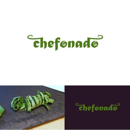 Logo concept for Chefonado