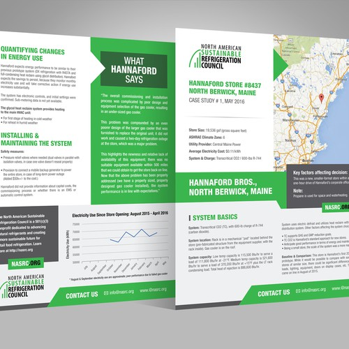 Case Study Template for Environmental Nonprofit