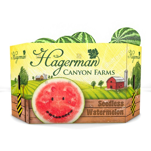 Playful package design for Hagerman Canyon