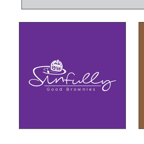 Logo Concept for Sinfully Good Brownies