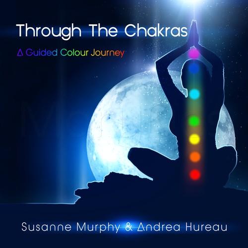 CD cover for album THROUGH THE CHAKRAS