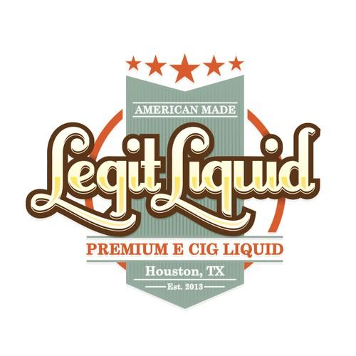 E-Cig Liquid Brand | Legit Liquid logo