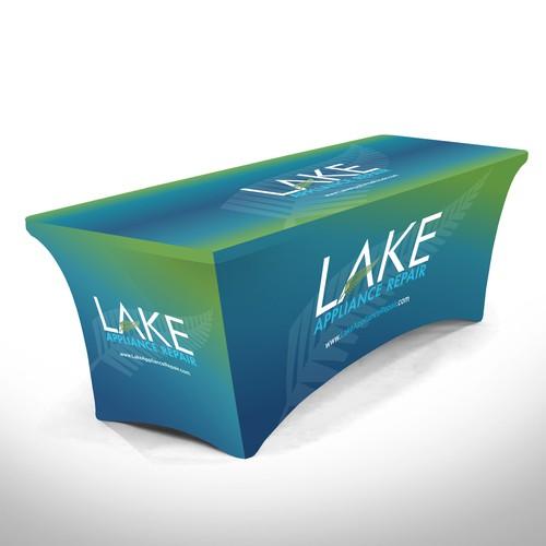 Lake Table Cloth