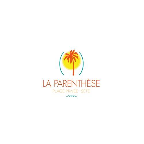 Logo pour une plage privée