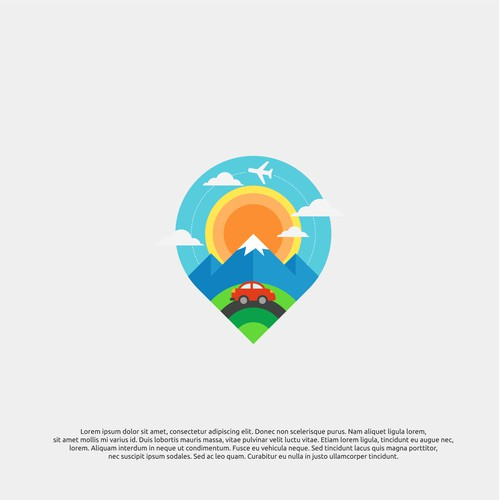 logo concept for alaska