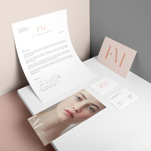 re-branding a luxury aesthetics clinic