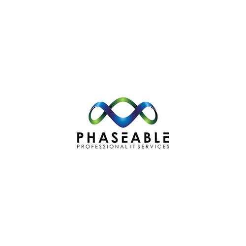 Phaseable logo