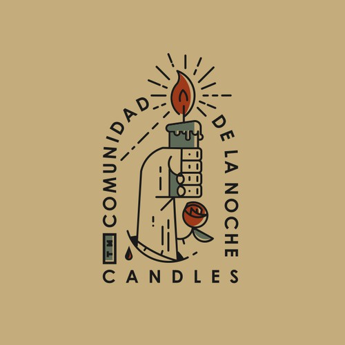 Candle making design concept