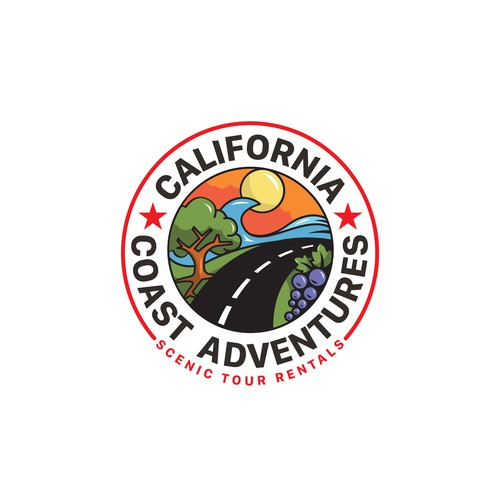 California Coast Adventures Logo