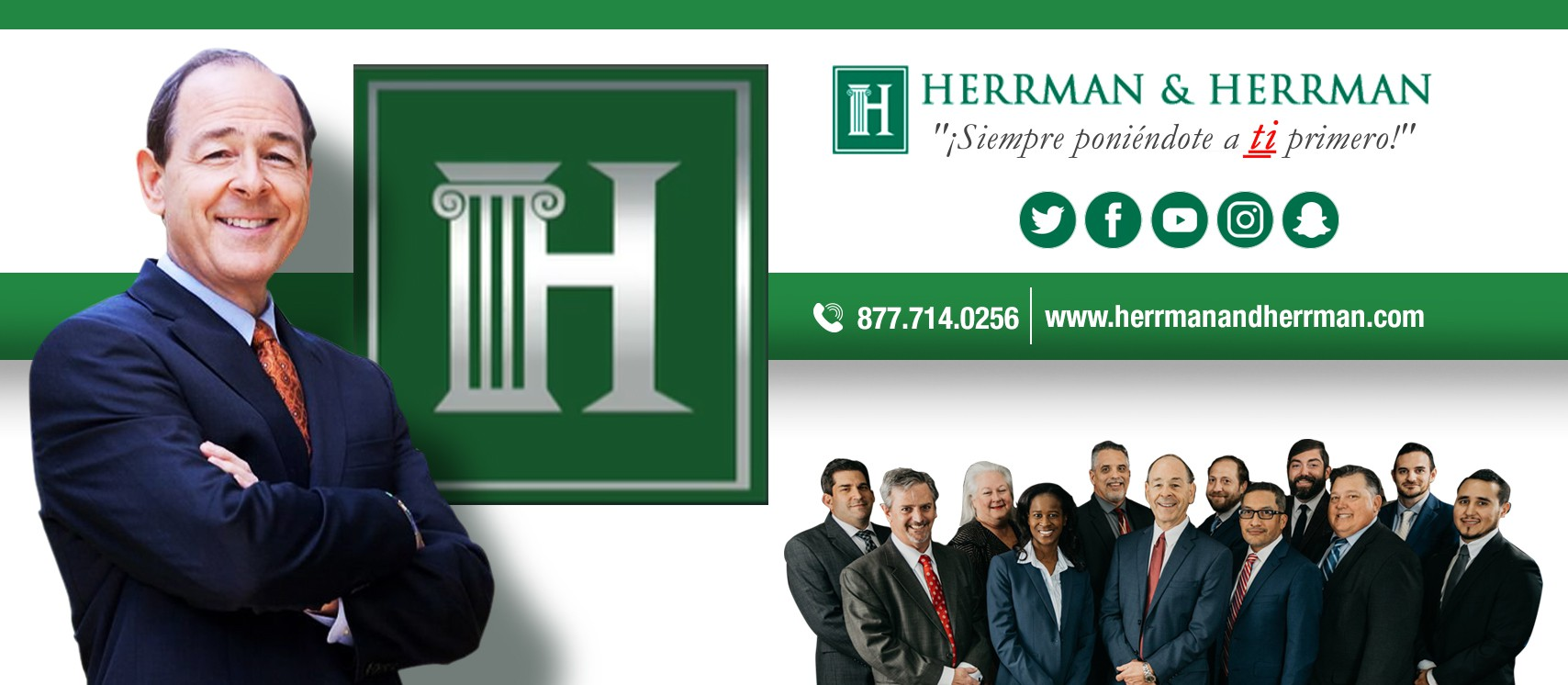 Herrman and Herrman Spanish Facebook Cover picture