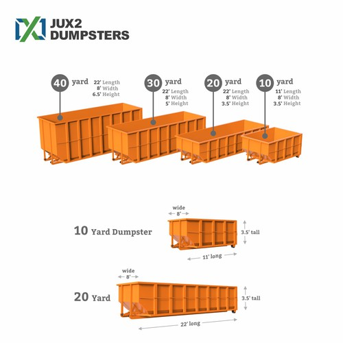 Create images dumpsters container for site.