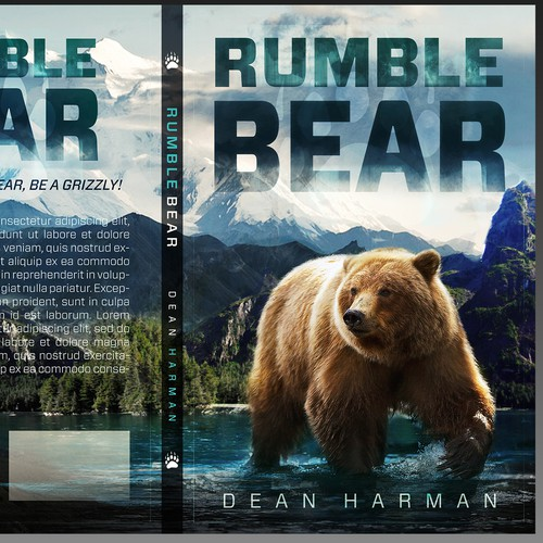 Entry for Book cover contest of RUMBLE BEAR