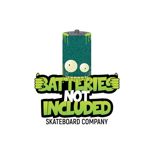 Batteries Not Included Skateboard Co.