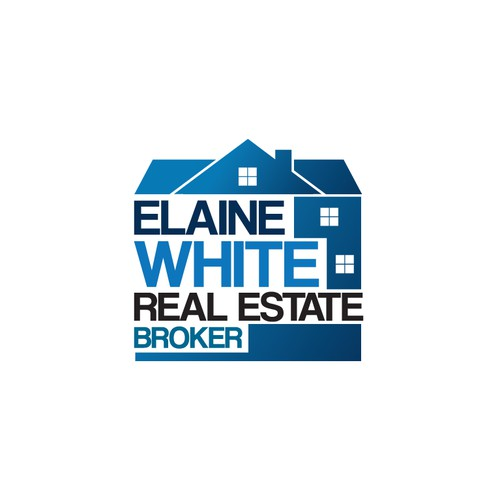 ElaineWhite REAL ESTATE logotype